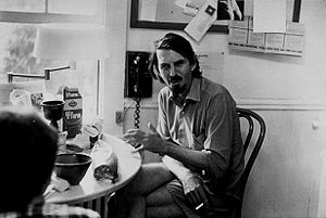 Robert Creeley by Elsa Dorfman. Portrait taken...