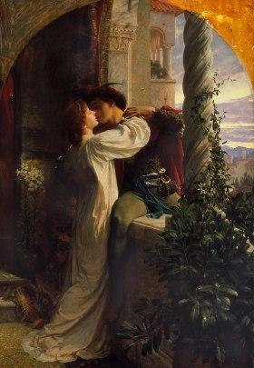 Roméo et Juliette par Frank Bernard Dicksee (1884).