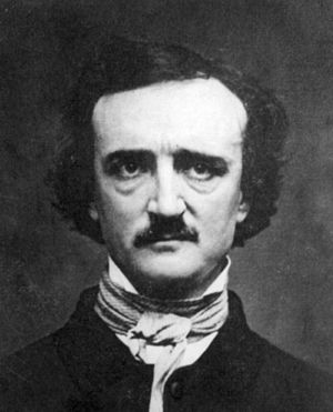 Cropped image from the famous E.A. Poe daguerr...