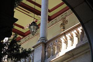 Français : Edifici històric de la Universitat ...