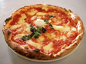 English: Picture of an authentic Neapolitan Pi...