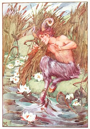 Illustration from a collection of myths.