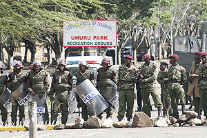 Recreation ground in Nairobi has been turned i...