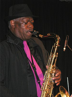 "English: Joe McPhee in concert with ""A Tr..."
