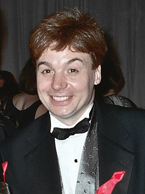 Mike Myers, an actor from Scarbrough who is be...