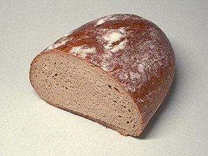White rye-type bread