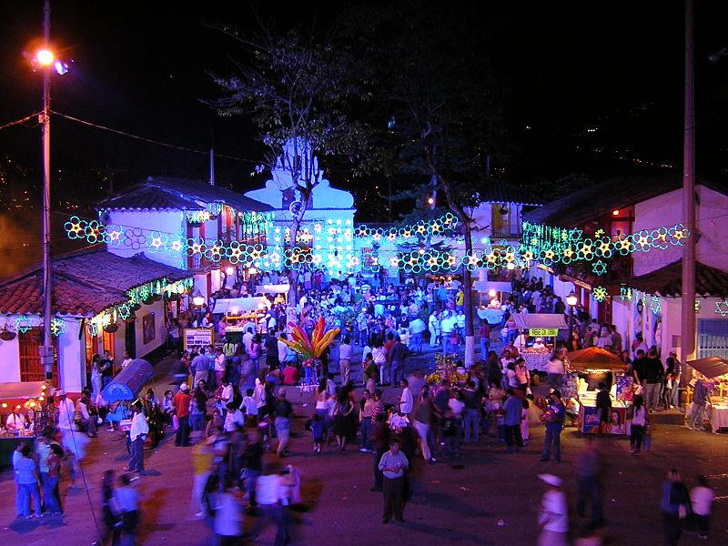 Pueblito Paisa-Navidad 2006-Medellin.JPG