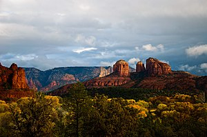 Red Rock State Park, located near Sedona, Ariz...