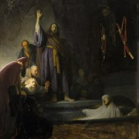 """The Raising of Lazarus"" by Rembrandt and Vincent van Gogh"