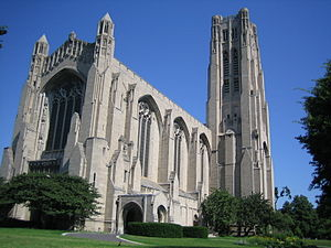 The Rockefeller Chapel at the University of Ch...