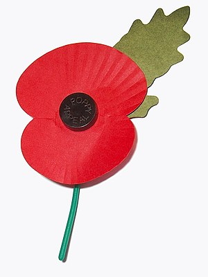 Royal British Legion poppy