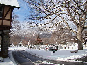 Old section of West Point's Cemetery