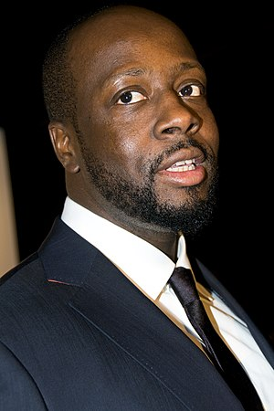 Wyclef at the ONEXONE benefit in San Francisco...