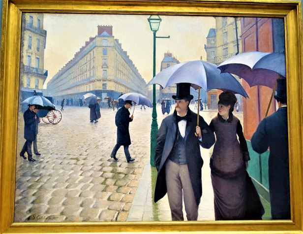 """""""Paris Street, Rainy Day"""" by Gustave Caillebotte - Joy of Museums - Art Institute of Chicago"""