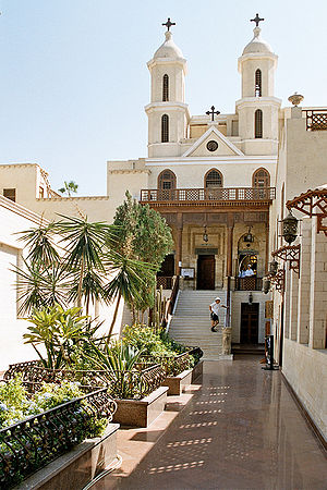 The Hanging Church is Cairo's most famous Copt...