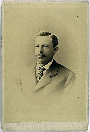 English: Ezra Sutton, Boston Beaneaters, 3rd B...