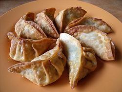Fancy a Pasty?- Chinese fried dumplings