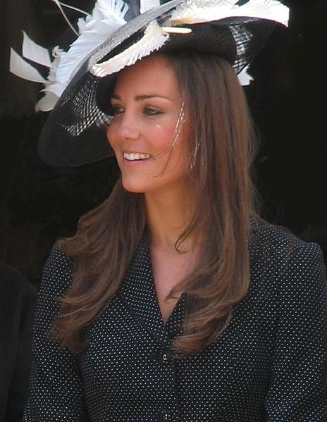 File:Kate Middleton at the Garter Procession 2008.jpg