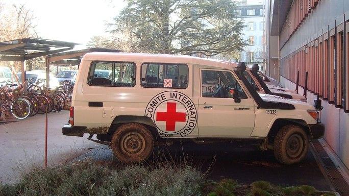 Landcruiser at the ICRC Headquarter in Geneva