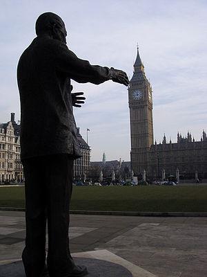English: Nelson Mandela Statue Nelson Mandela ...