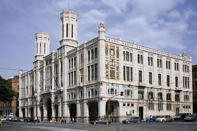 Palazzo Civico Bacaredda, Cagliari