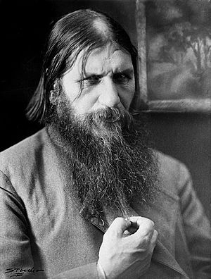 Grigori Rasputin, the famous Russian mujique (...