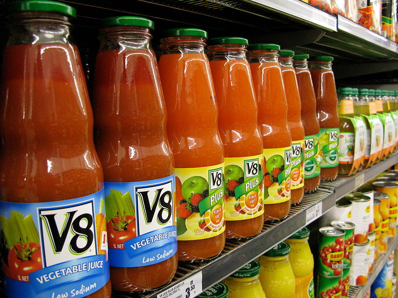 File:V8 vegetable juice.jpg
