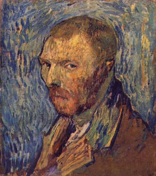"""Self-Portrait 'Mutilated Ear'"" byVincent van Gogh"