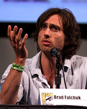 English: Brad Falchuk at the 2011 Comic Con in...