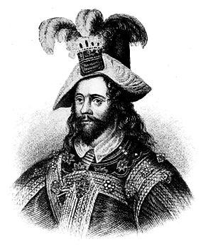 English: George Clifford, Earl of Cumberland.