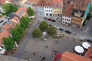 Erfurt, Thuringia, Germany: Wenigemarkt