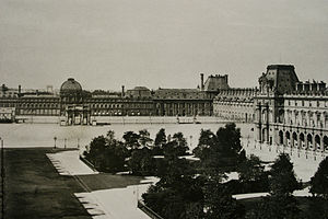 English: Tuileries Palace under the Second Emp...