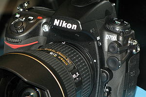 English: Nikon D700