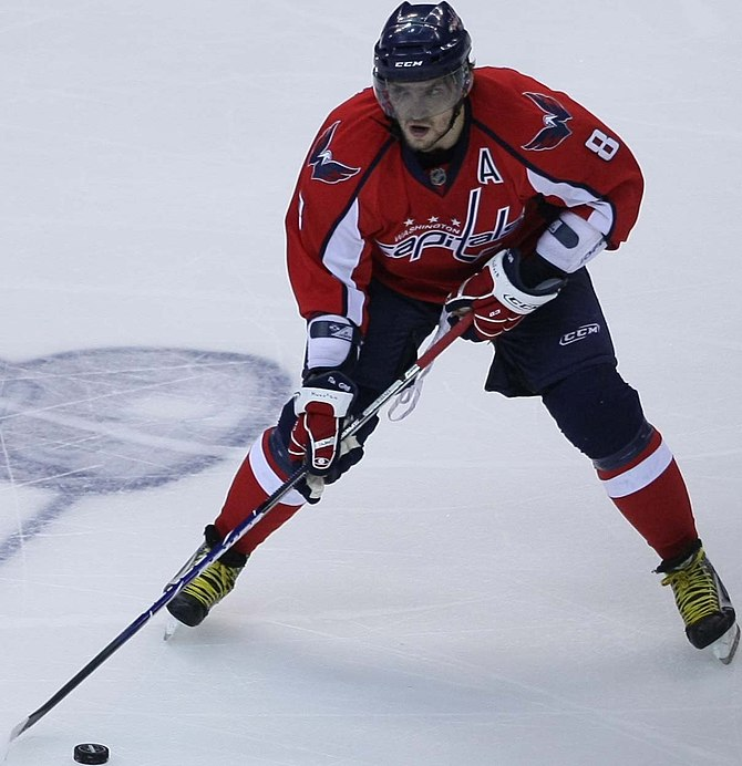 Alex Ovechkin of the Capitals
