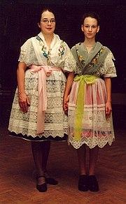 Народна ношња лужичких Сербов