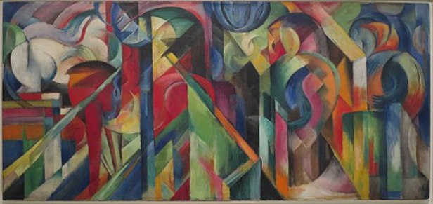 Horse Paintings by Franz Marc