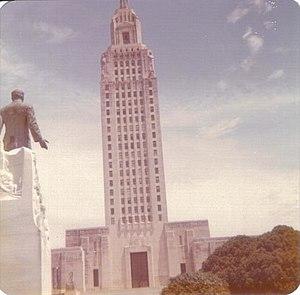 Louisiana State Capitol, Baton Rouge, 1972.