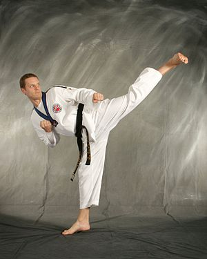 English: Taekwondo is one of the oldest styles...
