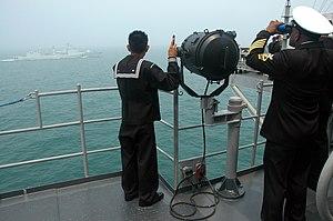 US Navy 050330-N-1307C-005 Quartermaster 2nd C...