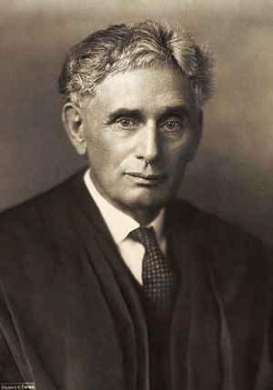 Wilson appointed Louis Brandeis, the first Jew...