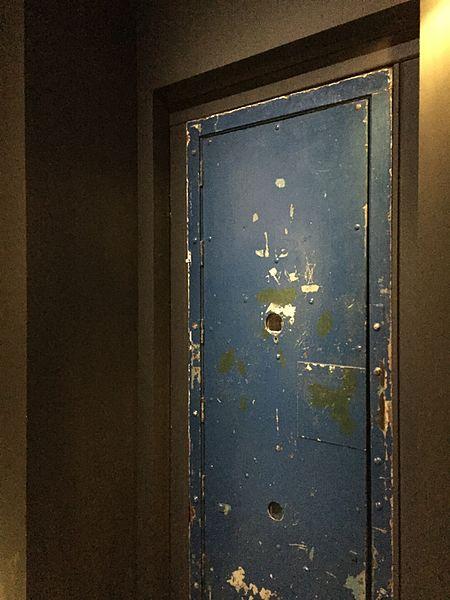 FileChangi Prison Cell Door Interior Singapore History