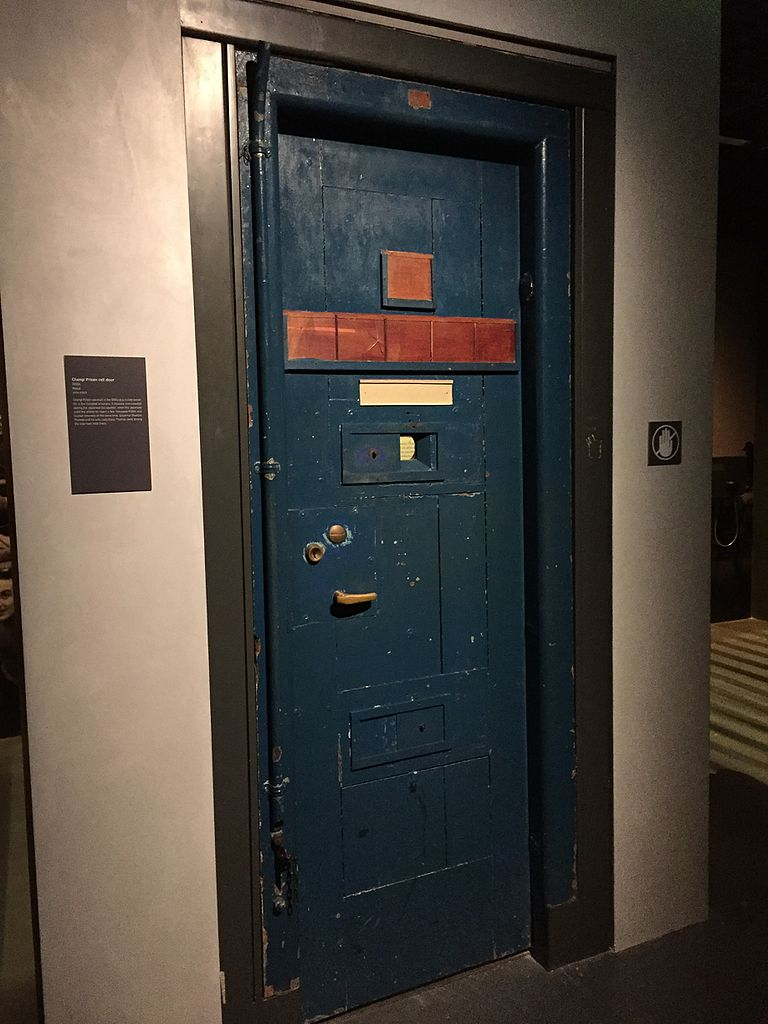 File Changi Prison Cell Door Exterior Singapore History