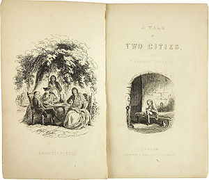 Charles Dickens: A Tale of Two Cities. With Il...