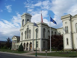 Chemung County Couthouse, Elmira, New York
