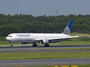 Boeing 767-400ER, fleet of Continental Airline...