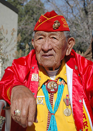 Dan Akee, World War II Veteran, Navajo Code Ta...