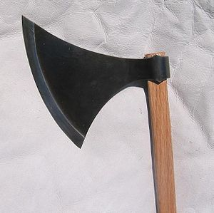 Replica Danish axe head, Petersen Type L or Ty...