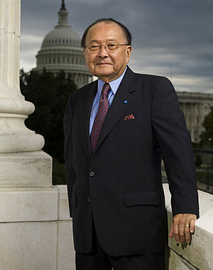 English: Daniel Inouye, senator from Hawaii