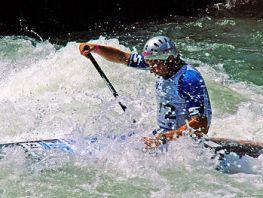 Dejan Stevanovic, whitewater canoeing