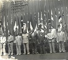 Mugabe was in attendance at the Commonwealth Heads of Government Conference in New Delhi, 1983
